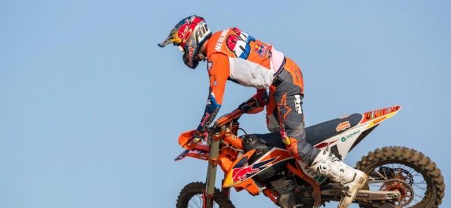 Jeffrey Herlings stapt weer op de KTM