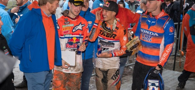 MXoN winnaars niet genomineerd voor Sportploeg van het Jaar!