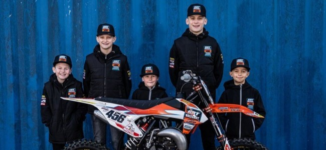 KTM UK komt met een jeugd team!