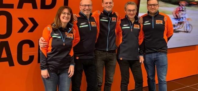 Never change a winning team: Jeffrey Dewulf en KTM