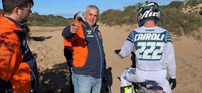 Antonio Cairoli bevestigd deelname in Mantova
