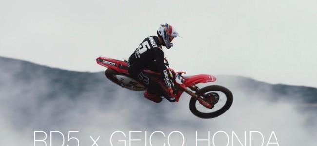 Video: Ryan Dungey voor het eerst op de Geico Honda