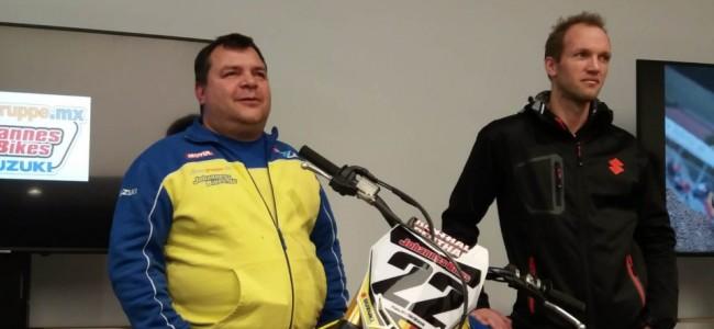 Strijbos met Johannes Bikes-Suzuki in de ADAC MX Masters!