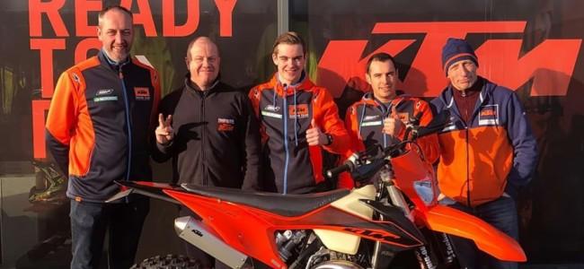 BK Enduro: Kaiya Brouwer voor KTM Belgium en Technobike !