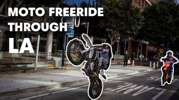 Video: Robbie Maddison & Tyler Bereman Run Wild in Los Angeles