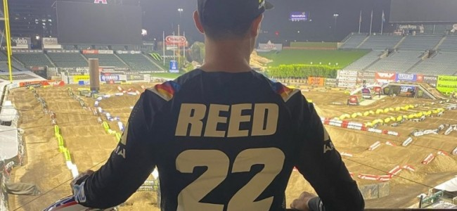 Chad Reed start niet in Oakland!