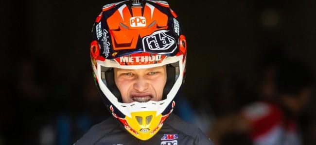 Brian Moreau raakt ernstig geblesseerd tijdens Supercross in Tampa