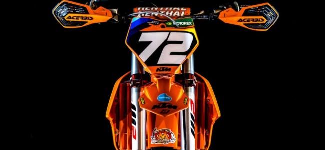 Foto: Liam Everts zijn KTM 250SX-F Machine
