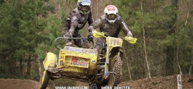 Willemsen/Stupelis winnen internationale Sidecar-opener te Eersel