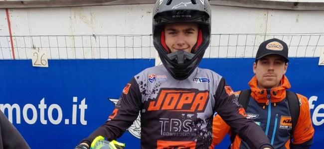 Blessure voor TBS KTM-rijder Cas Valk.