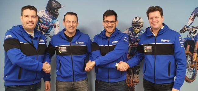 Yamaha steunt Gebben Van Venrooy Yamaha Supported MXGP Team