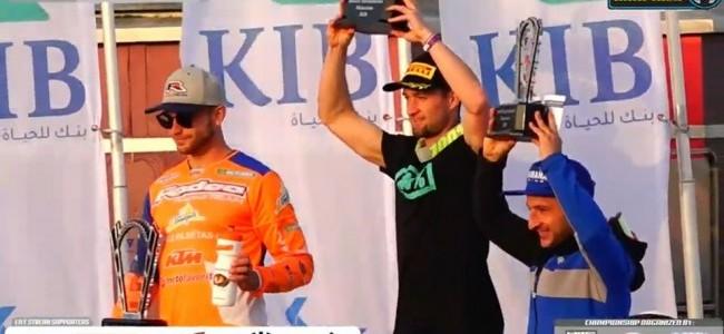 Max Nagl wint Kuwait International Motocross