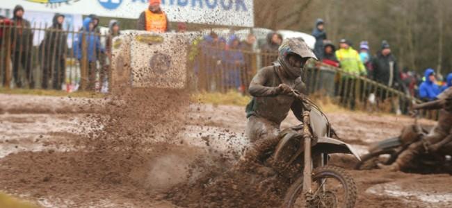 Te veel modder, te veel crashes voor Jago Geerts