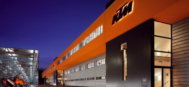 KTM, Husqvarna en GasGas sluiten productie tot 10 april!