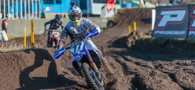 Gebben Racing-Van Venrooij-Yamaha over Valkenswaard