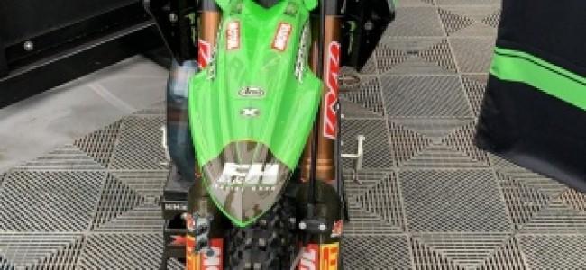 Bradley Mesters voor de F&H Racing Shop!