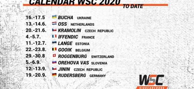 WK Zijspancross kalender door Corona op de schop, GP Sidecars te Lommel verdwijnt!