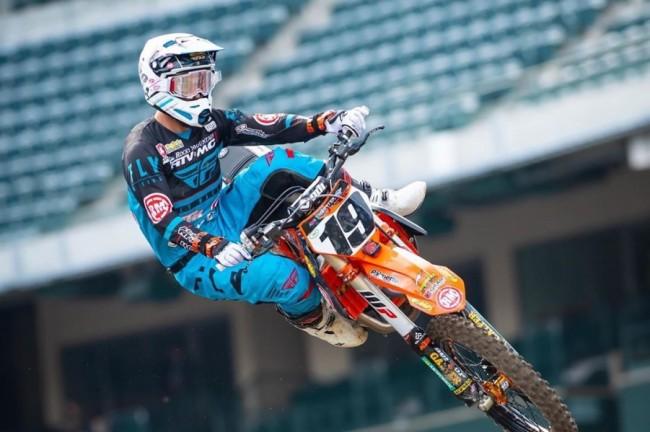 Justin Bogle mist volledig AMA Supercross seizoen