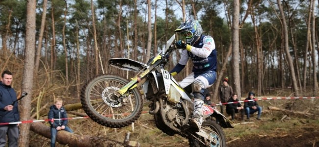 Geslaagd Husqvarna debuut voor Mathias Van Hoof