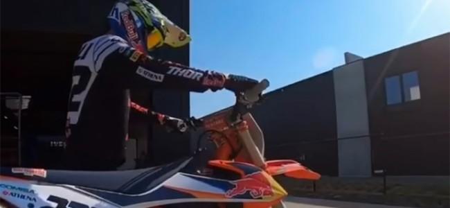 VIDEO: Blijf in uw kot TC222 style!