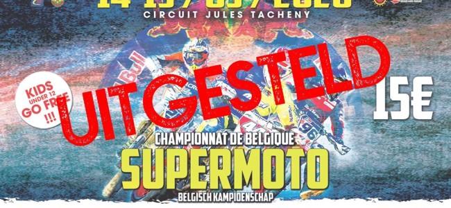 ⚠️Eerste wedstrijd BeNeCup Supermoto uitgesteld!⚠️
