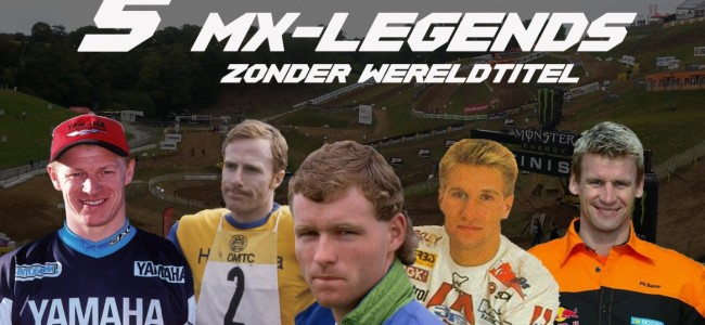 Video: 5 MX-Legends Zonder Wereldtitel