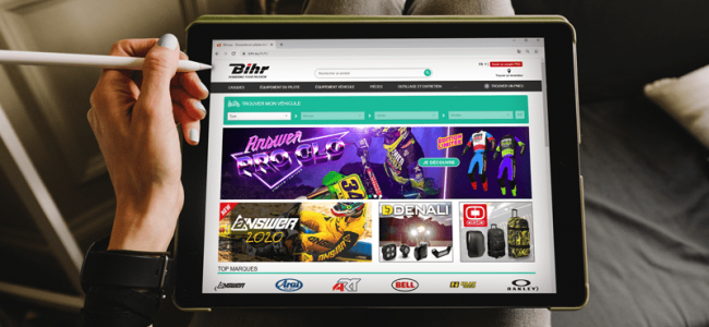 BIHR – stelt thuislevering voor zijn leveranciers voor