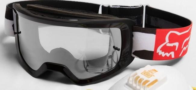 Fox schenkt motorcrossbrillen aan medisch personeel!