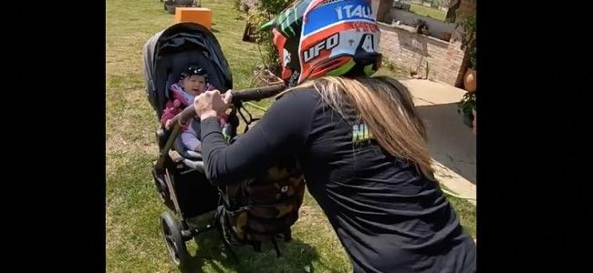 VIDEO: Supermama Kiara Fontanesi blijft verder trainen!