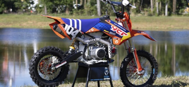 Win 'n YCF pitbike in Brian Moreau tombola