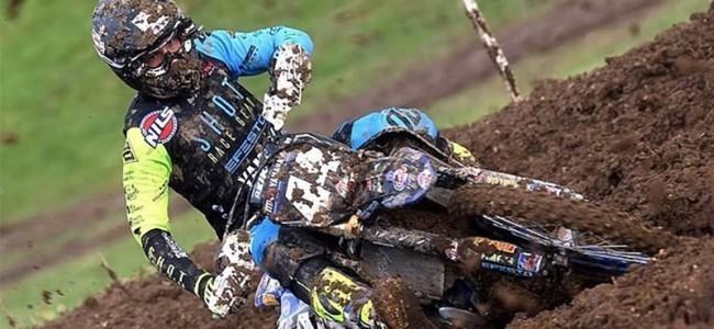 MX2: Morgan Lesiardo en Ghidinelli Yamaha uit elkaar