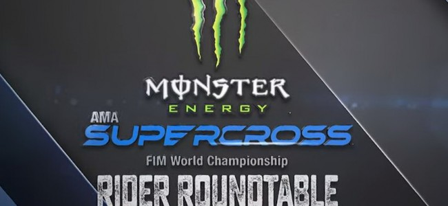 VIDEO de allereerste virtuele Supercross persconferentie!