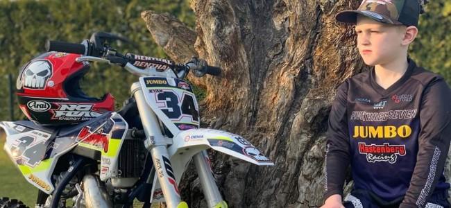Kyan Vermeer maakt overstap naar de 65cc