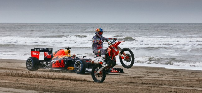 FOTO:  De Herlings & Verstappen beach show!