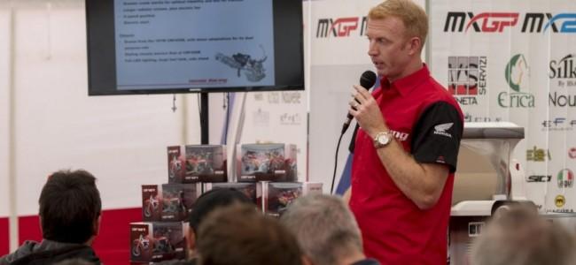 Gordon Crockard wordt Honda's Off-Road Racing Manager!