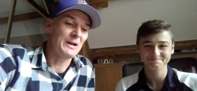 VIDEO: Stefan & Liam Everts op Sporza