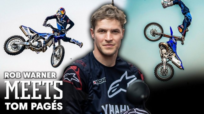 Video: Ontmoet Freestyle Motocross legende Tom Pagès