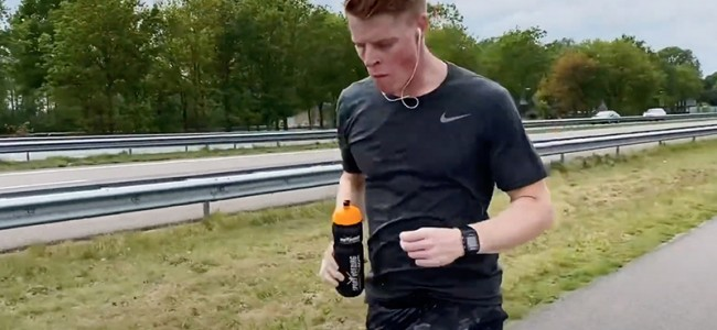 VIDEO: Hoe Lars van Berkel de Wings For Life Run won!
