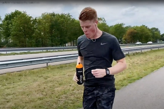 VIDEO: Hoe Lars van Berkel de Wings For Life Run won!