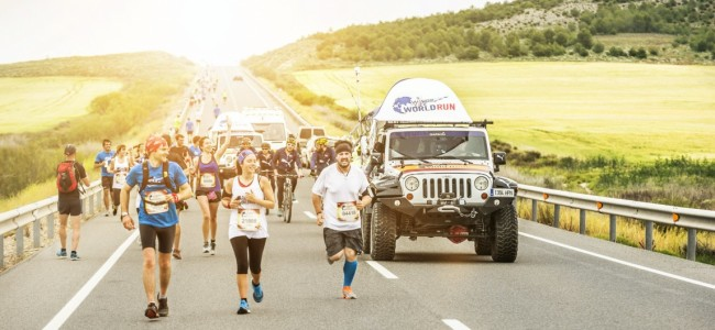 Lars Van Berkel gaat voor 34km in Wings for life World Run!