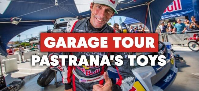 Video: Travis Pastrana Epic garage tour