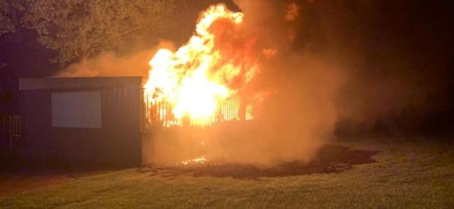 MSC Siddeburen getroffen door zware brand!