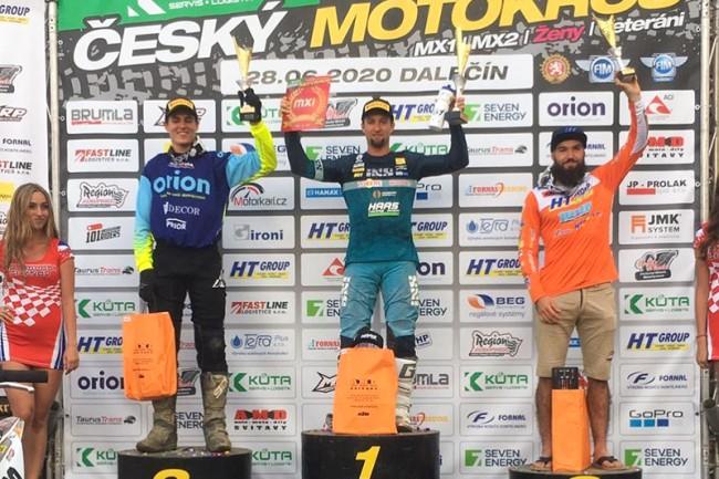Nagl wint enige MX1 manche in Dalecin