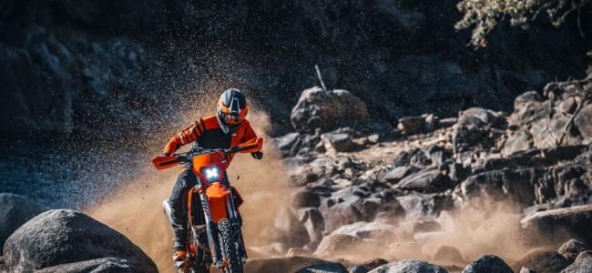 KTM verzet de bakens met 2021 EXC enduro's!