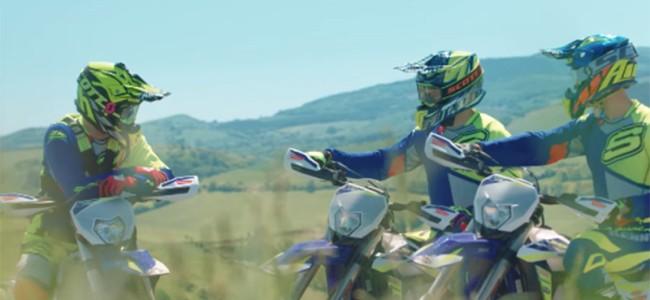 VIDEO: Sherco Racing enduro 2021 introductie