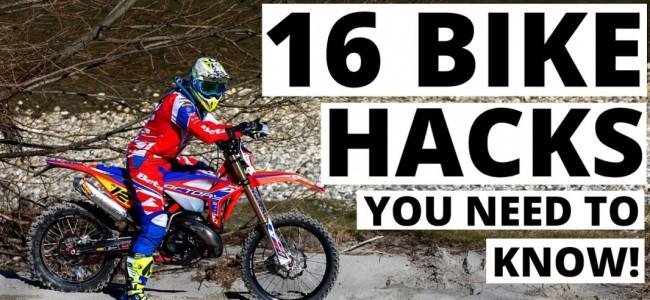 VIDEO: 16 bike hacks die je moet weten!