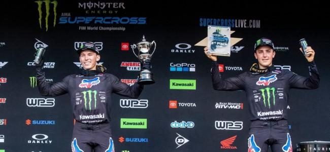 Forkner en McAdoo over hun podiumplek in SLC4