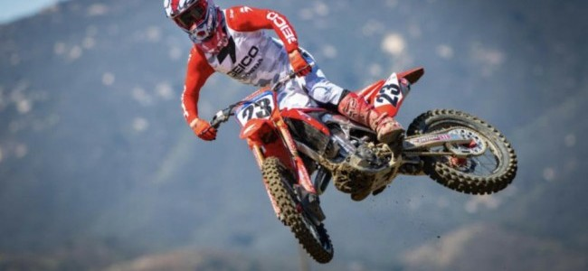 VIDEO: Team HRC Honda verwelkomt Chase Sexton