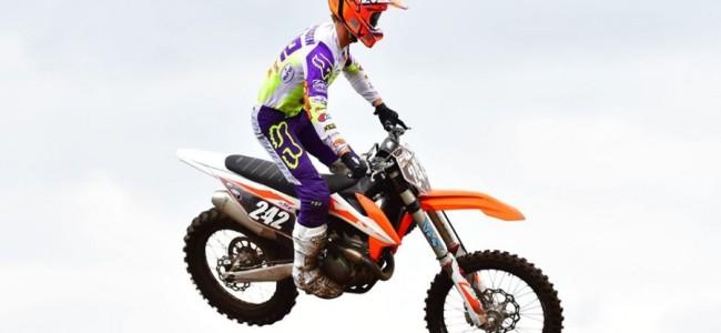 Kjell Verbruggen maakt de overstap naar de 250cc!