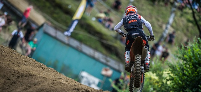 FOTO: De KTM toppers in Tsjechië